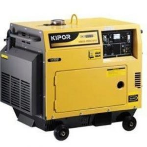 Aggregaatti Kipor KDE7500TD diesel 230V