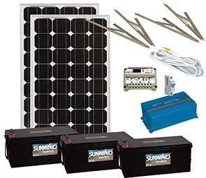Aurinkoenergiapaketti jääkaappipaketti 230V