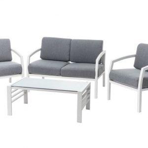 BALI terassikalusteet sohva ja 2 tuolia ja pöytä