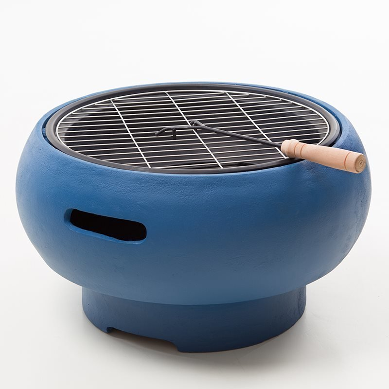 BBGrill Tub Kannettava grilli Sininen