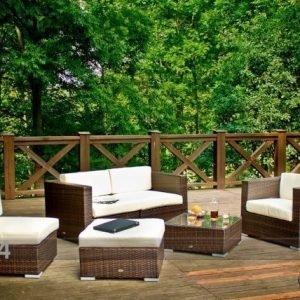 Bello Giardino Puutarhakalusteet +Nojatuoli Rahi Ja Sohvapöytä