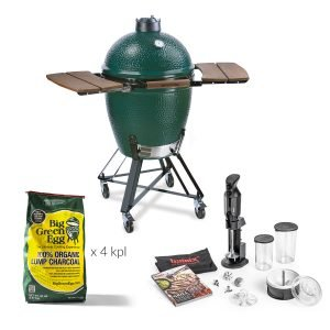 Big Green Egg Large Grilli + Tarvikepaketti
