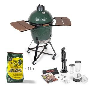 Big Green Egg Medium Grilli + Tarvikepaketti