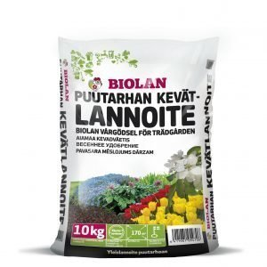 Biolan 10 Kg Puutarhan Kevätlannoite