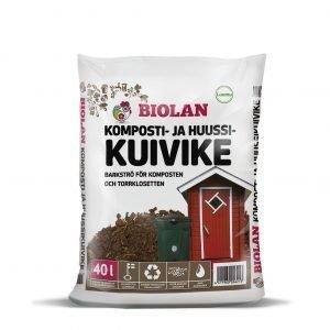 Biolan 40 L Komposti- Ja  Huussikuivike