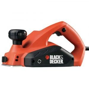 Black & Decker Sähköhöylä 650 W Musta