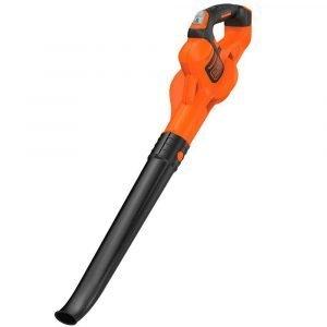 Black & Decker Tool Only Lehtipuhallin 18 V Musta