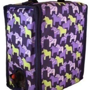 BoxinBag BiB dala purple- Kylmälaukku kolmelle viinipullolle