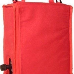 BoxinBag BiB red- Kylmälaukku kolmelle viinipullolle