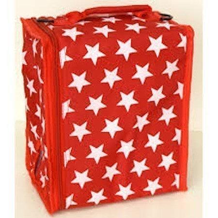 BoxinBag BiB star red- Kylmälaukku kolmelle viinipullolle