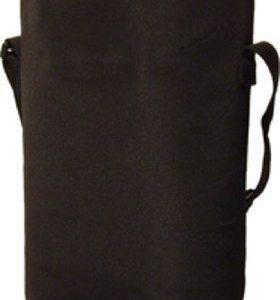 BoxinBag Duo black- Erillinen laukku kahdelle pullolle