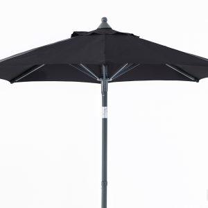 Brafab Malta Aurinkovarjo Antrasiitti Musta Ø 2 M