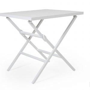 Brafab Wilkie Pöytä Valkoinen 72x72 Cm