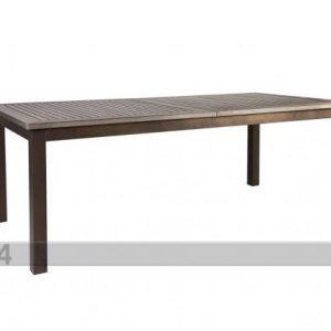 Carden4you Jatkettava Puutarhapöytä Monta 90x152-210 Cm