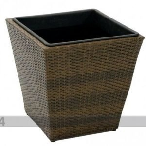 Carden4you Kukkaruukku Wicker 45x45x43