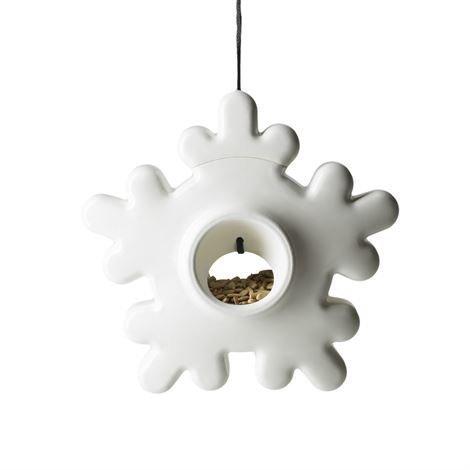 Design House Stockholm Lumi Linnunruokinta-automaatti Valkoinen