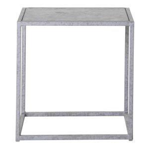 Domo Design Outdoor Square S Pöytä Galvanisoitu