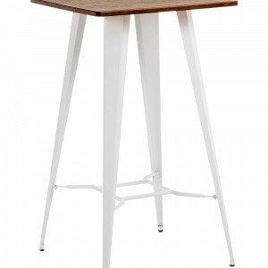 Ellos Malibu Pöytä Metallia Valkoinen 60x60 Cm