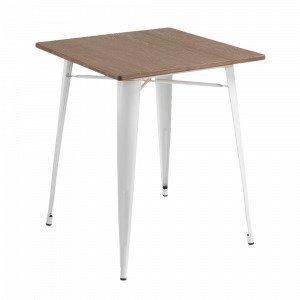 Ellos Malibu Pöytä Valkoinen 80x80 Cm