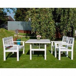 Ellos Soliden Pöytä Valkoinen