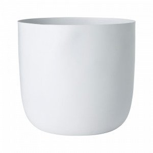 Ellos Terrassa Medium Ruukku Korkeus Valkoinen 35 Cm
