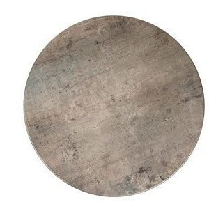 Exxent Pöytälevy Topalit Ø 70cm Concrete