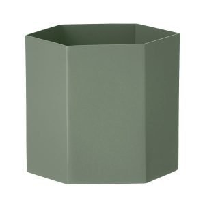 Ferm Living Hexagon Ruukku L Dusty Green