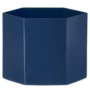 Ferm Living Hexagon Ruukku Xl Sininen