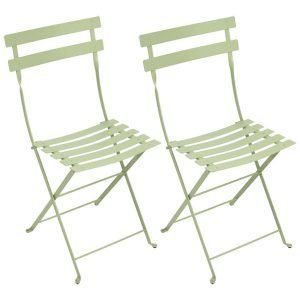 Fermob Bistro Metal Tuoli Willow Green 2 Kpl