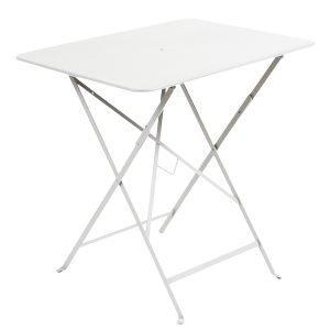 Fermob Bistro Pöytä Cotton White 77x57 Cm
