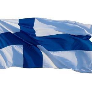 Flagmore Suomen Lippu 8 Kangas 125x204 Cm
