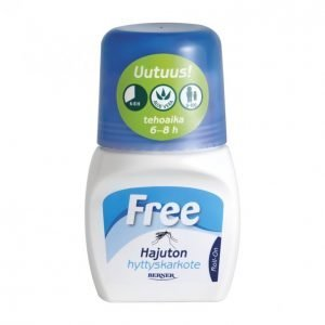 Free Roll-On Hyttyskarkote 60 Ml