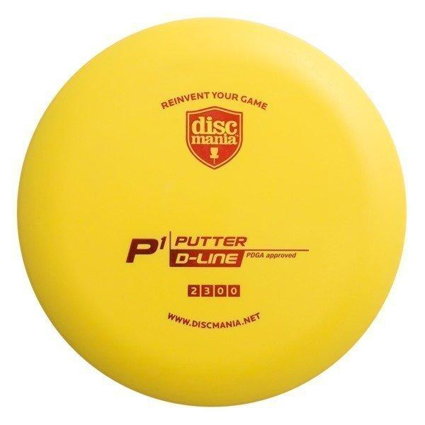 Frisbeegolf 2 kpl Putter D-line P1