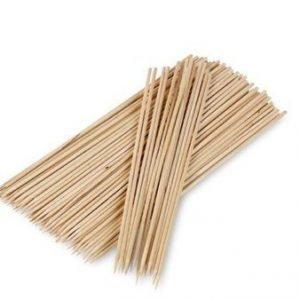 Funktion Grillitikut 100 kpl Bambu