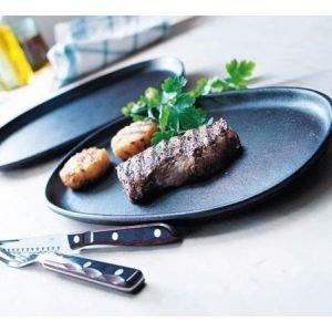Gense Le Gourmet valurautainen grillilautanen 2 kpl