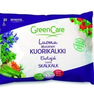 Greencare Luomu Muruinen Kuorikalkki 16 Kg