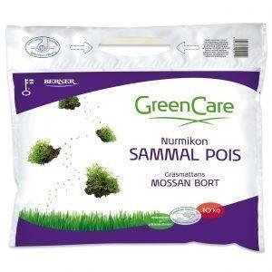 Greencare Nurmikon Sammal Pois 10 Kg Kivennäislannoite