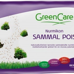 Greencare Nurmikon Sammal Pois 10 L Lannoite