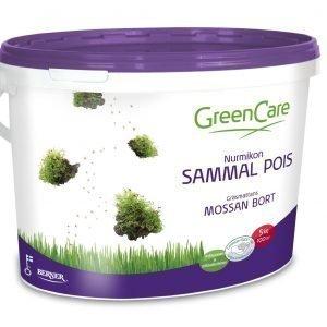 Greencare Nurmikon Sammal Pois 5 Kg Lannoite