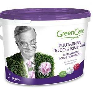 Greencare Puutarhan Rodo Ja Ikivihreät 5 Kg Erikoislannoite