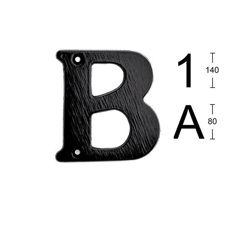 Habo 572 Kirjain Musta