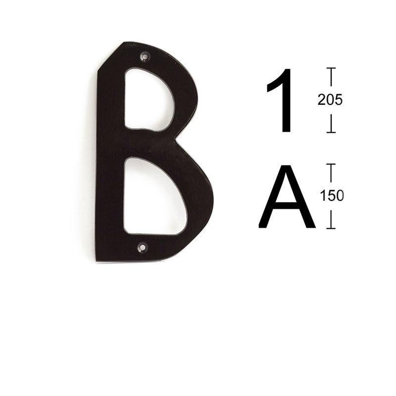 Habo 574 Kirjain Musta