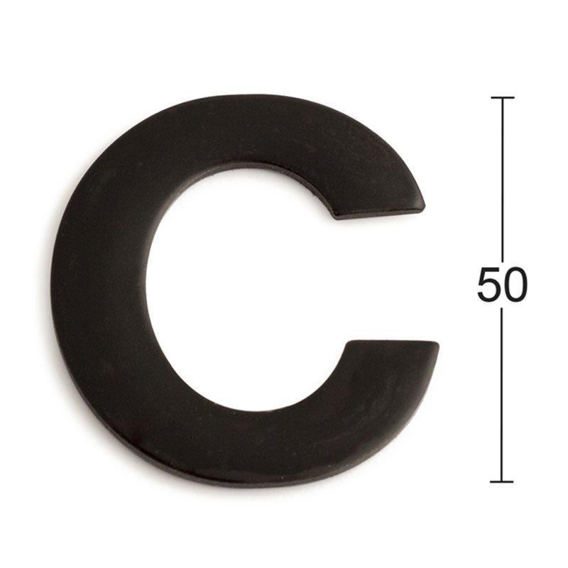 Habo GRF50 Kirjain Musta