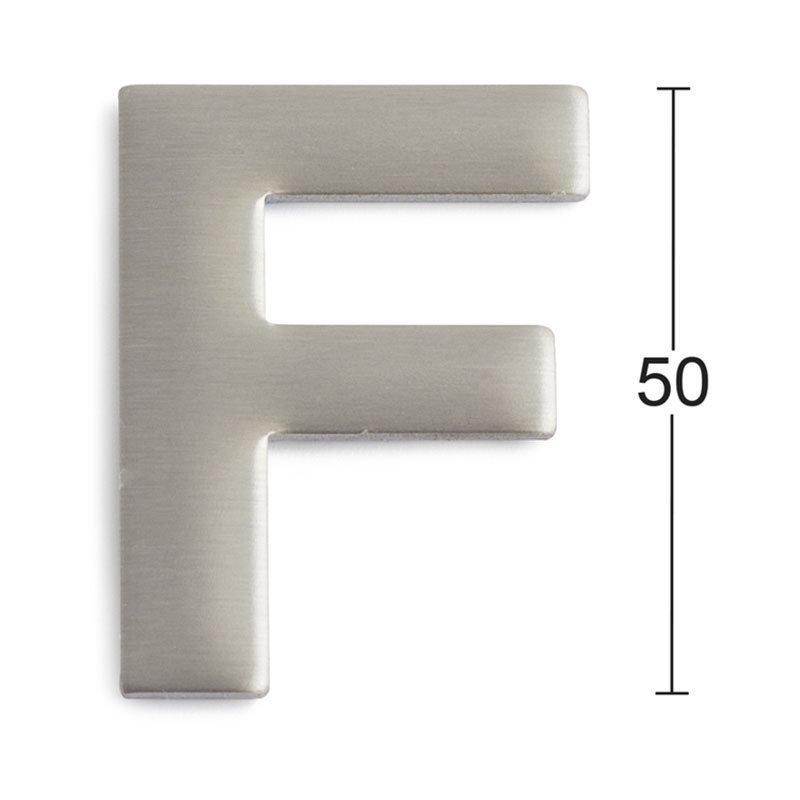 Habo GRF50 Kirjain Ruostumaton teräs