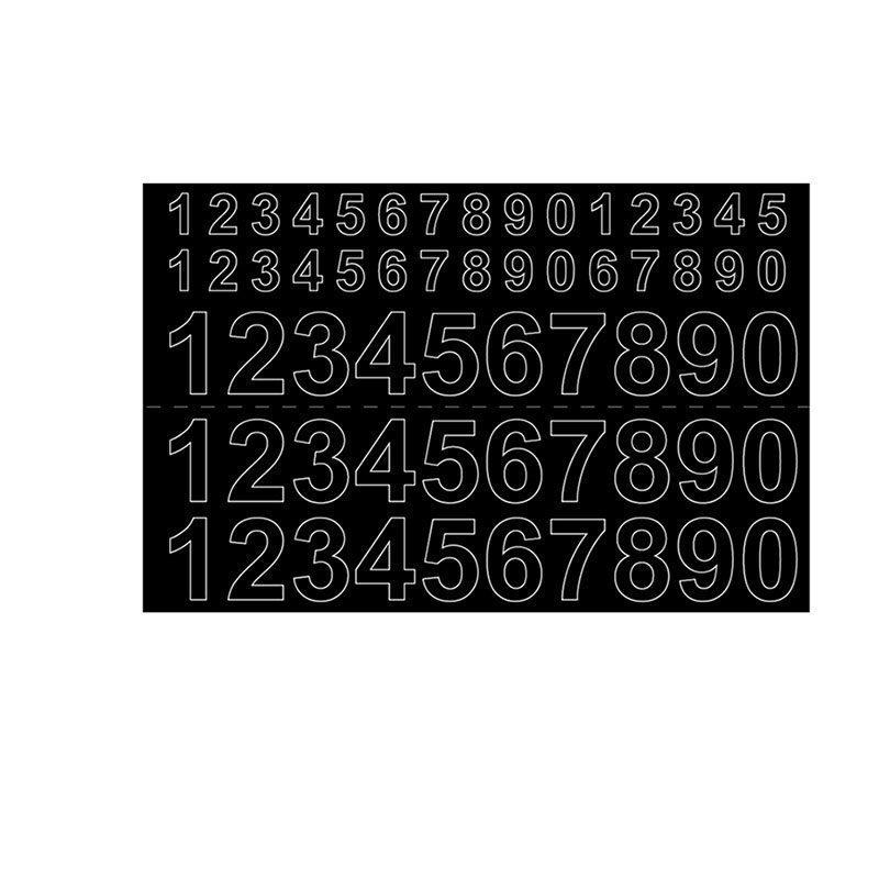 Habo GVINYL13-26 Numerot Musta