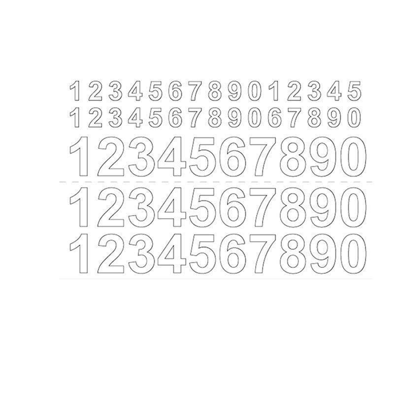 Habo GVINYL13-26 Numerot Valkoinen