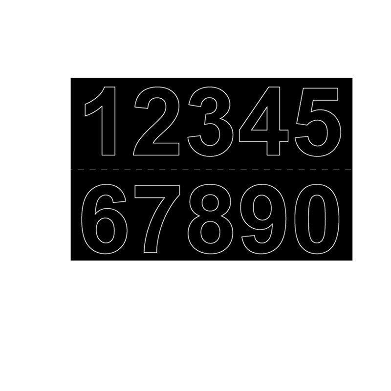 Habo GVINYL50 Numerot Musta