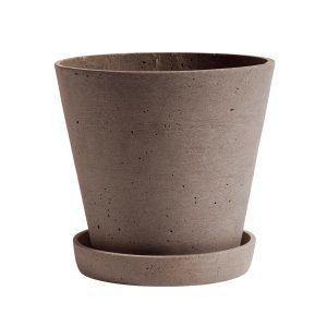Hay Flowerpot Ruukku Ja Lautanen L Terrakotta
