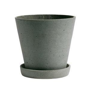 Hay Flowerpot Ruukku Ja Lautanen L Vihreä