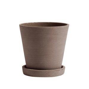 Hay Flowerpot Ruukku Ja Lautanen M Terrakotta